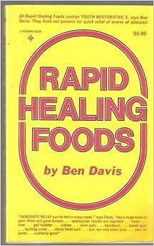 Book Rapid Healing Foods