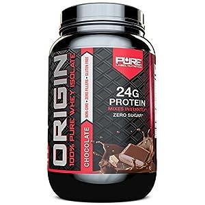 Whey Protein Isolate, Undenatured Whey Protein Powder, Non GMO, Gluten Free, Lactose Free, Sugar Free, 2 pounds (Chocolate)