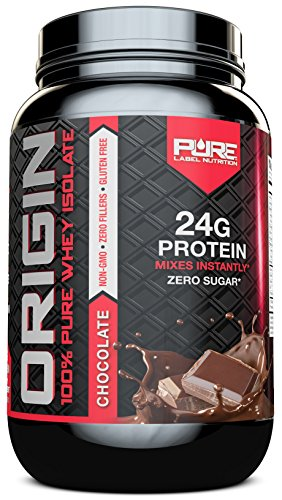 Whey Protein Isolate, Undenatured Whey Protein Powder, Non GMO, Gluten Free, Lactose Free, Sugar Free, 2 pounds (Chocolate)