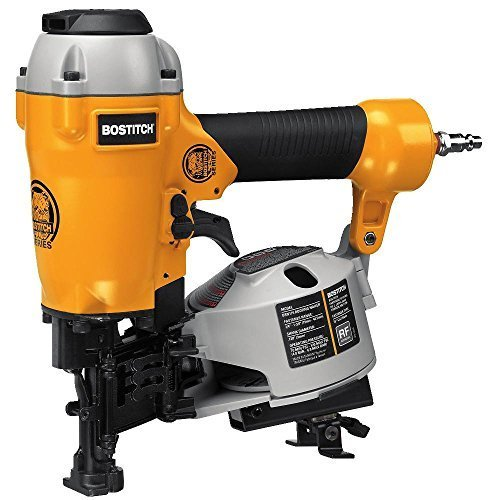 BOSTITCH U/BRN175 Factory Reconditioned Bulldog 15Degree Coil Roofing Nailer by BOSTITCH by BOSTITCH