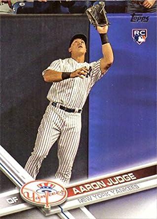 2017 Topps Baseball 287 Aaron Judge Rookie Card