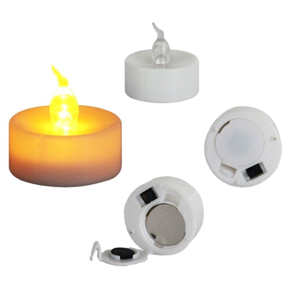 Luminaria Kit - Flameless Tea Lights with Luminary Bags (Pack of 144)