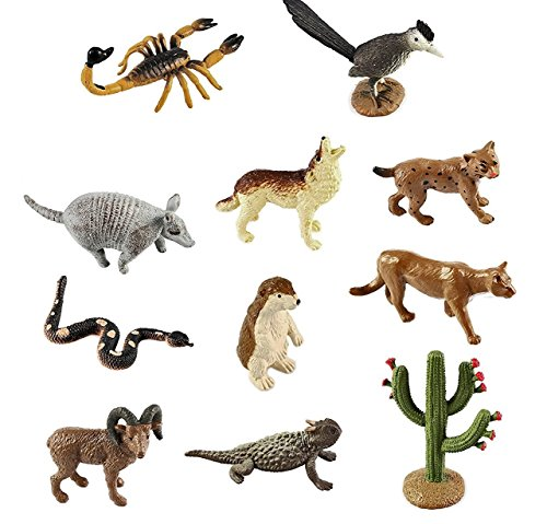 Safari Ltd Desert TOOB, Pack of 11 (Bobcat Animals)