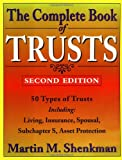 The Complete Book of Trusts, Martin M. Shenkman, 0471170445