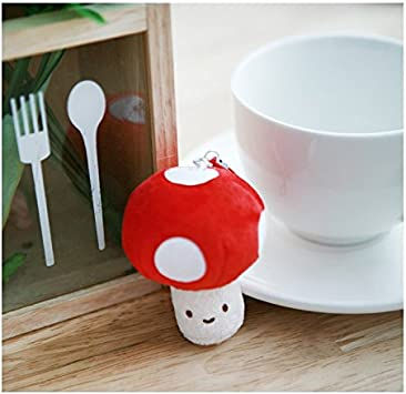 Tea cup cell phone plug charm
