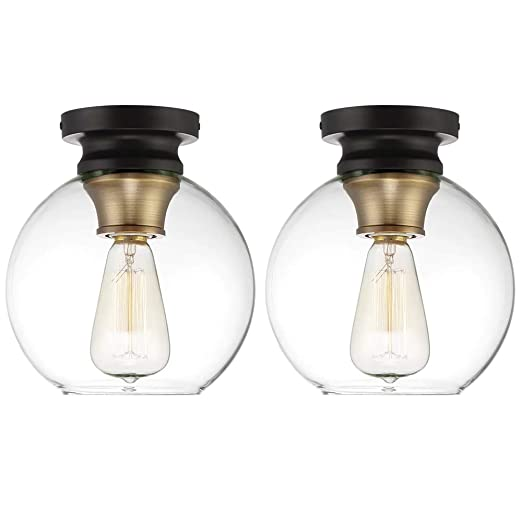 Amazon.com: Globe Electric Lighting - Juego de 2 lámparas de ...