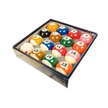 ARAMITH SUPER PRO CUP 5,08 cm 1/4 puntos y rayas bolas de billar ...