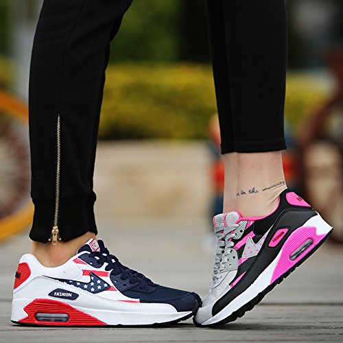 Shoes No Sneaker Running Walking Casual Fashion Men's Women's Blue 66 Air Town qrwxqf8OF
