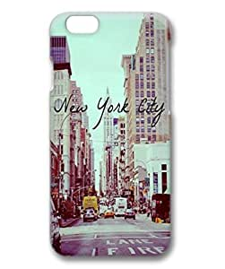 iPhone 6 Cases, iPhone 6 Cases, New York City, Case for iPhone 6 -- Hard Plastic Case