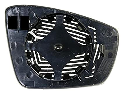 Cristal placa espejo retrovisor Polo 2009 derecho: Amazon.es ...