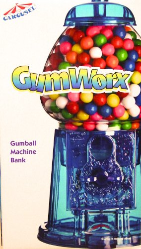 Carousel's Purple GUMWORKS Gumball Machine, NO GUM INCLUDED