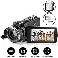 Camcorder, AiTechny Digital Video Camera Full HD 1080P...