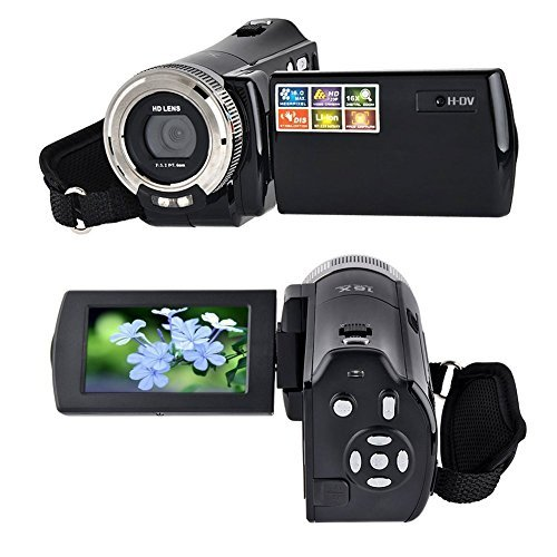 Camcorder,Bigaint Puto BG003 C8 16MP Mini DV High Definition Digital Video Camcorder DVR 2.7' TFT LCD 16x Zoom Hd Digital Camera Digital 1280 x 720p Video Recorder (Jazz Video Recorder With Camera)