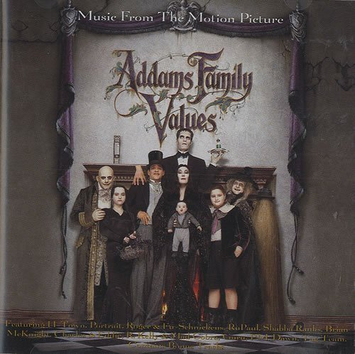 Addams Family Values by Polygram Records (1993-11-16)