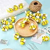Wool Felt Bee Craft Balls Bee Craft Supplies for