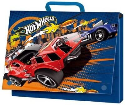 Caja escolar niños A4, Hot Wheels- escolar: Amazon.es: Oficina y ...