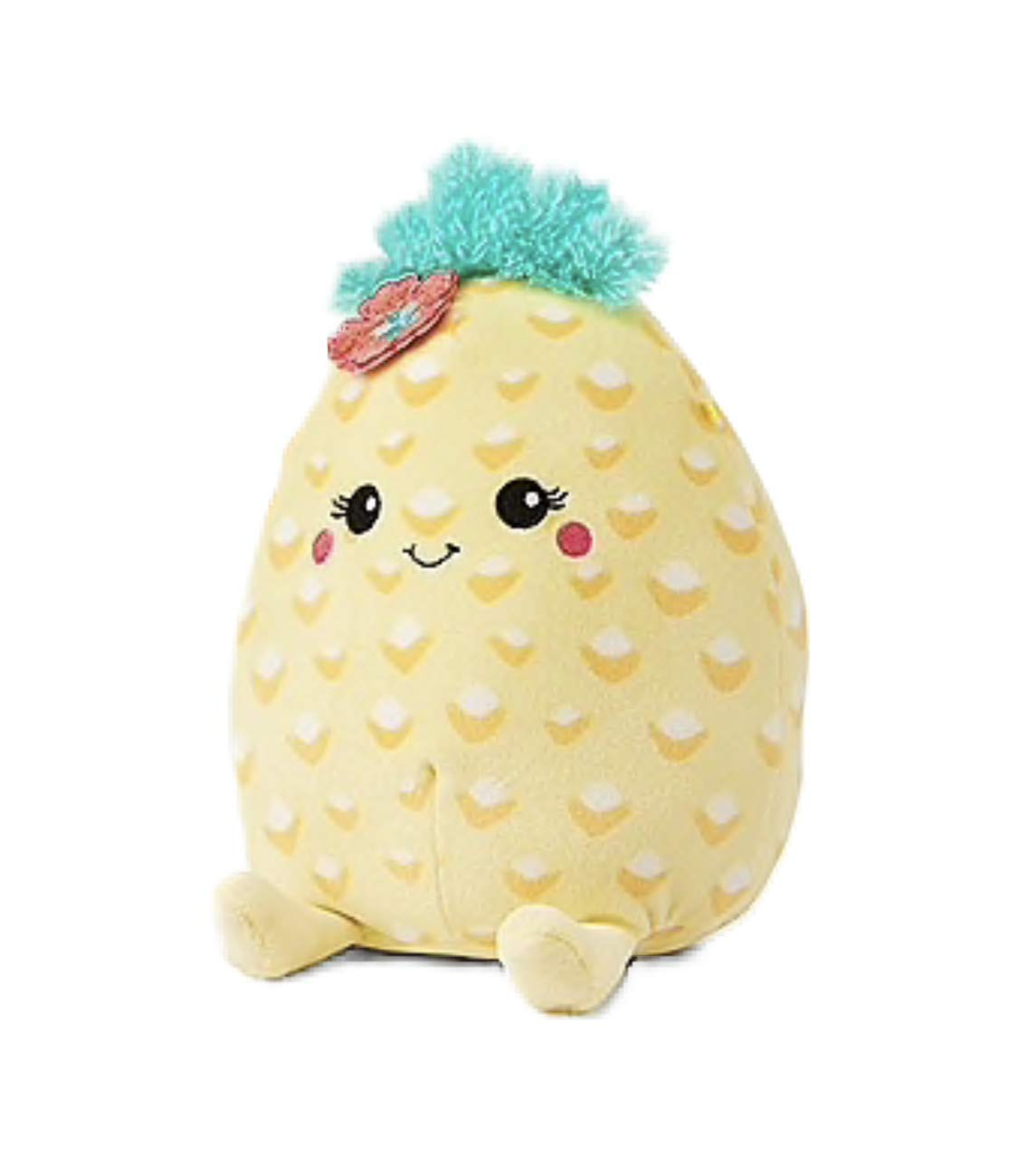 Squishmallows Justice 8'' Summer The Pineapple Yellow Super Soft Plush Pillow Stuffed Animal