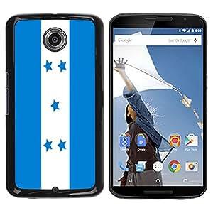 - Flag - - Monedero pared Design Premium cuero del tir¨®n magn¨¦tico delgado del caso de la cubierta pata de ca FOR Google Nexus 6 & Motorola Nexus 6 Funny House