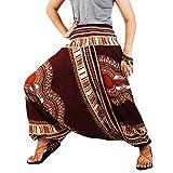 Villas Dashiki Style Printed 2 in 1 Harem Pants & Jumpsuit