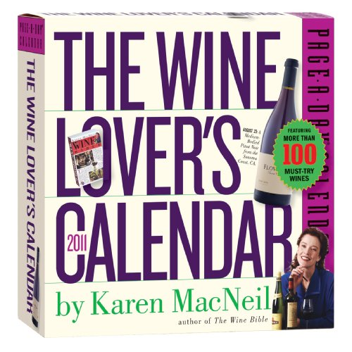The Wine Lover's 2011 Page-A-Day Calendar