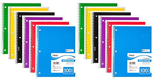 12 Subject Notebook - 3