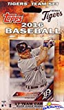 Detroit Tigers 2016 Topps Baseball Factory Sealed EXCLUSIVE Special Limited Edition 17 Card Complete Team Set with Justin Verlander, Miguel Cabrera & More Stars & Rookies! Shipped in Bubble Mailer!