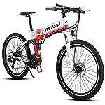 GUNAI-Electric-Bike-500W-48V-Mountain-Bike-Pieghevole-City-Commuter-Bike-per-Adulti