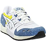 ASICS Womens Gel-Lyte Athletic Shoes, Blue;White, 8