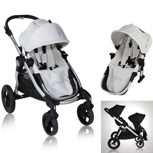 Baby Jogger 81267KIT2 2011 City Select Stroller with Second Seat - Diamond