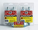 Leland Mr. Fizz CO2 Tapgas Four 74g CO2 Cylinders Per Pack for Picnictap & Fridgetap