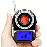 WISEUP Wireless RF GSM Bug Detector Covert Pinhole Spy Camera Finder Anti Spy Detector with LCD Screen