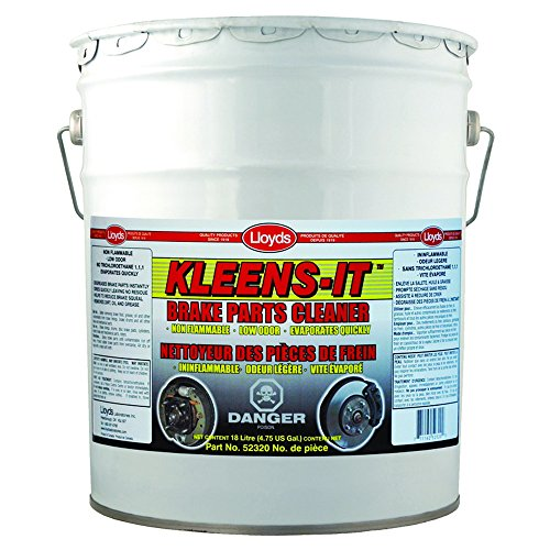 Kleens-It Non Flammable Brake Parts Cleaner, 52320, 18 L pail (4.6 gal) by Kleens-It