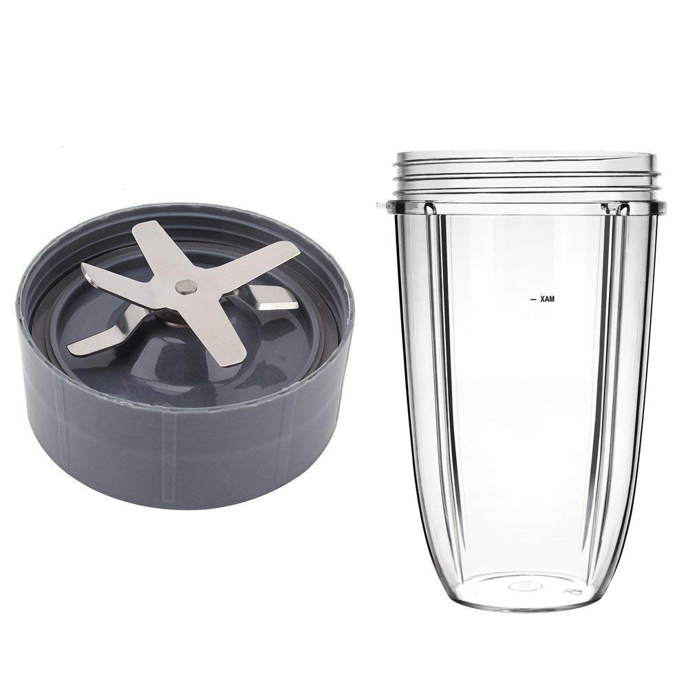 Extractor Blade for Nutribullet with 32OZ Cup Compatible Nnutribullet Replacement Parts 600W/900w Blender Juicer Mixer by Wadoy