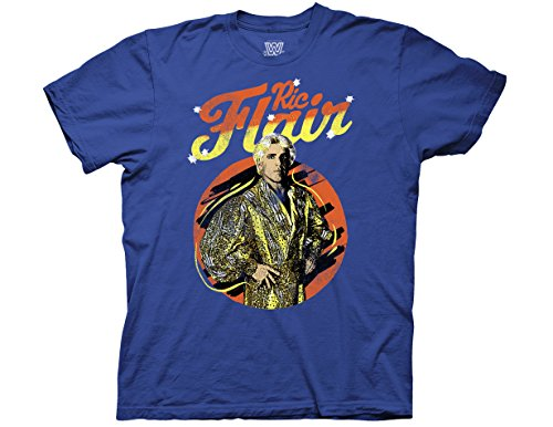 Ripple Junction WWE RIC Flair The Nature Boy Adult T-Shirt XL Royal