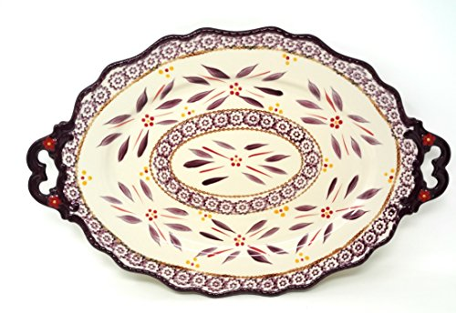 Temp-tations Elegant Platter Serving Tray 18.5