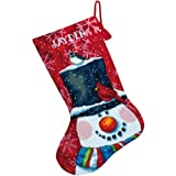 Dimensions Needlecrafts Needlepoint, Snowman and Friends Stocking