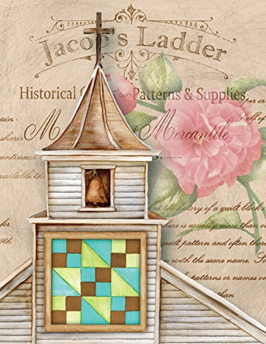 Jacob's Ladder Barn Quilt Blank Note Card Set 8 ct Package w/Envelopes Made in USA