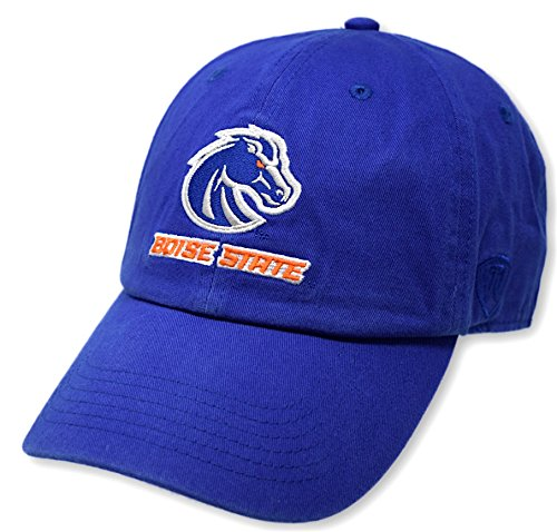 Top of the World NCAA Boise State Broncos Womens Adjustable Hat Relaxed Fit Team Icon, Royal - Boise Broncos Hats State