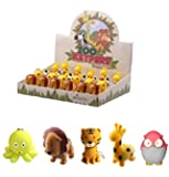 Emperor of Gadgets® Cute Animal LED Keychains with Sound Effects (5 Pack)