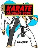 Karate Coloring Book