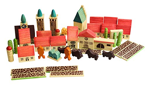 House of Marbles Village in a Bag