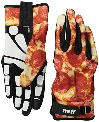 neff men 39 s chameleon pipe glove pizza large apparel accessories clothing accessories gloves. Black Bedroom Furniture Sets. Home Design Ideas