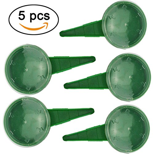 Seeder Tool - TinaWood 5 PCS Seed Dispenser Sower Seed Spreaders Planter Seeder Tool (Green x5)