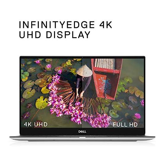 Dell XPS 13 7390 13.3 inch 4K UHD InfinityEdge Touchscreen Laptop (Silver) 10th Gen Intel Core i7-10710U, 16GB RAM, 1TB… 51hEbEa51UL. SS555
