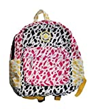 CONVERSE ALL-STAR PRINTED BACKPACK Book Bag NEW 9A5171-661 Pink Yellow 14x11x6