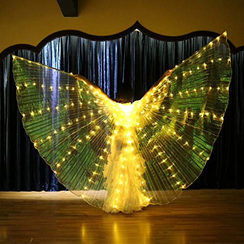Flurries  LED Glow Angel Isis Wings with