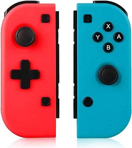 TUTUO Mando Switch para Nintendo Switch Joy con, Wireless Controller Gamepad Bluetooth Joystick Controlador Bluetooth Mando Controllers compatibles con Switch Pro: Amazon.es: Electrónica