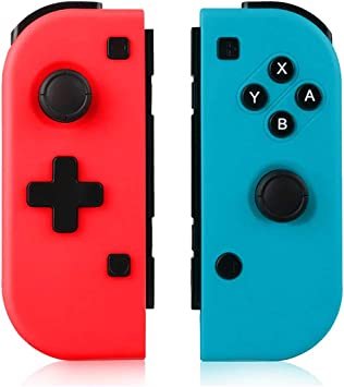 TUTUO Mando Switch para Nintendo Switch Joy con, Wireless Controller Gamepad Bluetooth Joystick Controlador Bluetooth Mando Controllers compatibles con Switch Pro: Amazon.es: Electrónica