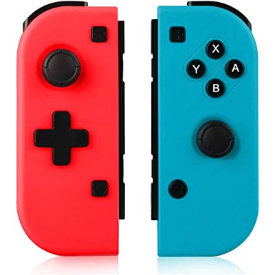 TUTUO Mando Switch para Nintendo Switch Joy con, Wireless Controller Gamepad Bluetooth Joystick Controlador Bluetooth Mando Controllers compatibles con Switch Pro