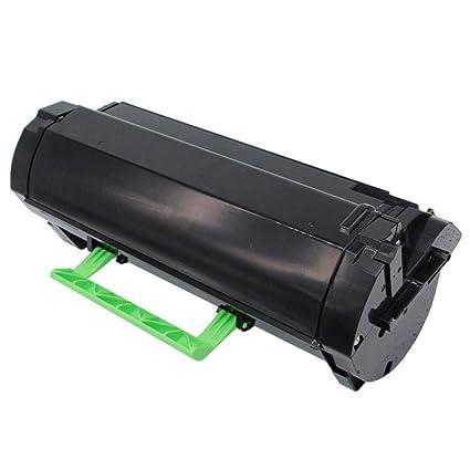 Compatible con MS410 caja de polvo negro MS410dn 510dn 610dn ...